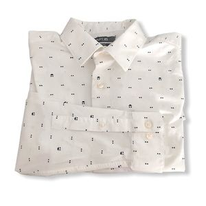 🌸HP🌸 Apt. 9 Bow Tie Slim-Fit Stretch Dress Shirt